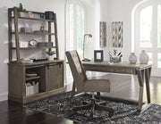 Ashley Furniture,Luxenford Credenza and Hutch,Office,schleider-furniture-company