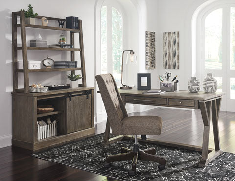 Ashley Luxenford Credenza and Hutch,Ashley Furniture,Cabinet and Storage,schleider-furniture-company