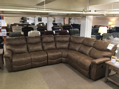 James Reclining Sectional,La-Z-Boy,Sectional,schleider-furniture-company