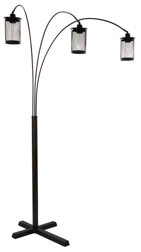 Ashley Maovesa Arc Floor Lamp,Ashley Furniture,Floor Lamp,schleider-furniture-company