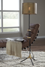 Ashley Furniture,Mance Adjustable Floor Lamp,Lamps,schleider-furniture-company