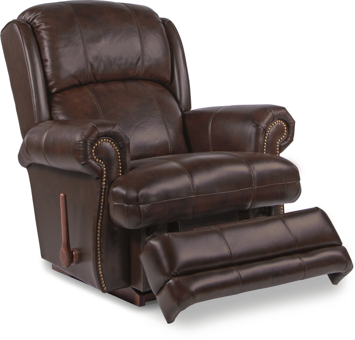 Kirkwood Leather Reclina Rocker Recliner Schleider