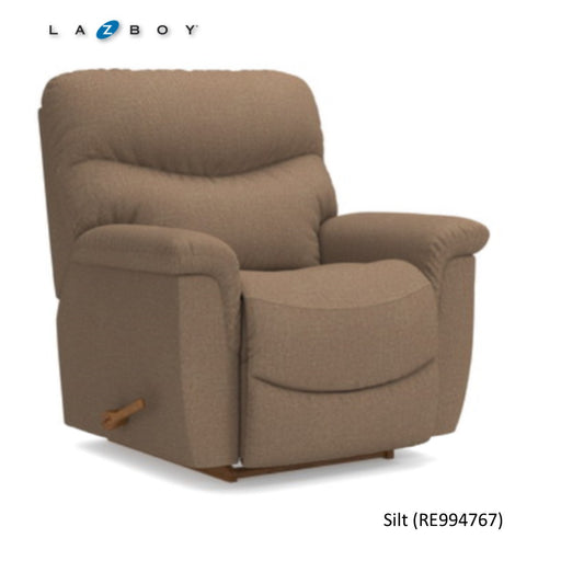 James Reclina-Rocker Recliner with Two-Motor Massage and Heat