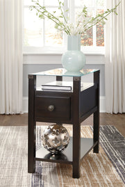 Diamenton Chairside End Table,Ashley Furniture,End Table,schleider-furniture-company