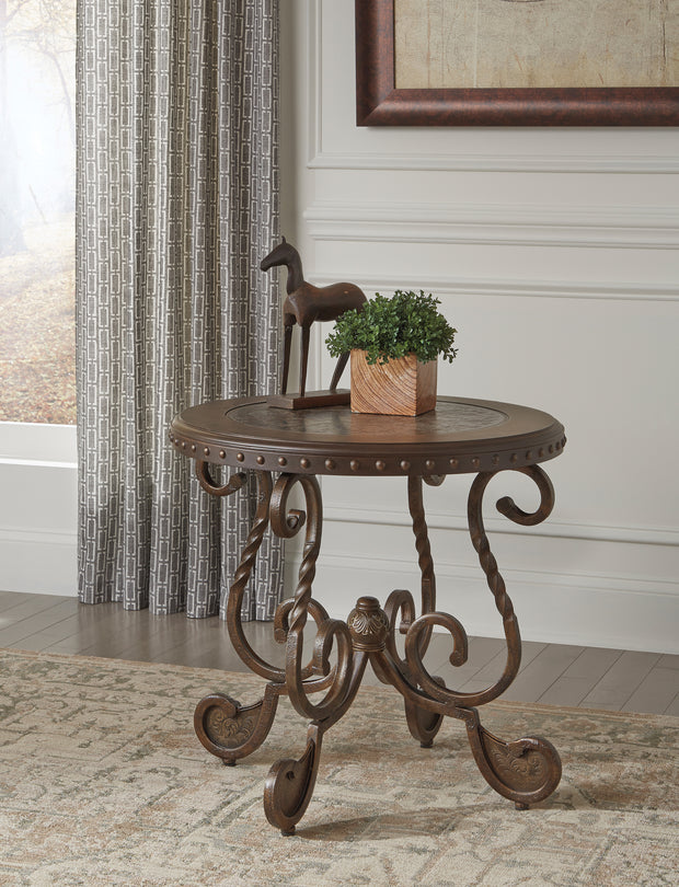 Rafferty End Table,Ashley Furniture,End Table,schleider-furniture-company