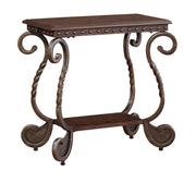 Rafferty Chairside End Table,Ashley Furniture,End Table,schleider-furniture-company