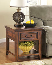 Woodsboro End Table,Ashley Furniture,End Table,schleider-furniture-company