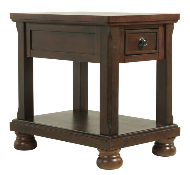 Porter Chairside End Table,Ashley Furniture,End Table,schleider-furniture-company.