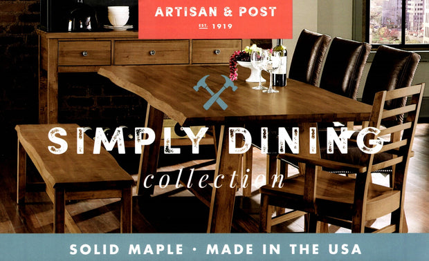 Artisan and Post,Simply Dining Solid Maple Kitchen Island,Dining,schleider-furniture-company