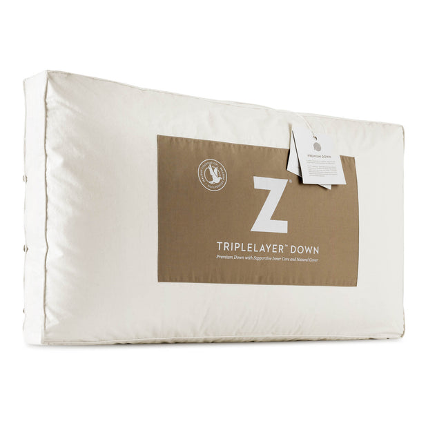 Z Triple Layer Down Pillow,Malouf,Pillow,schleider-furniture-company