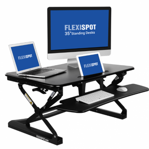 FLEXISPOT 35″ M2 Adjustable Sit-Stand Desk