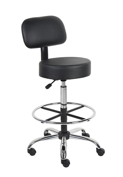 Pro Stool With Back