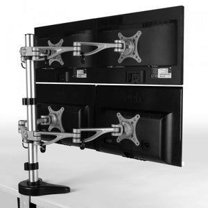 Fleximounts D6 Quad Monitor Arm