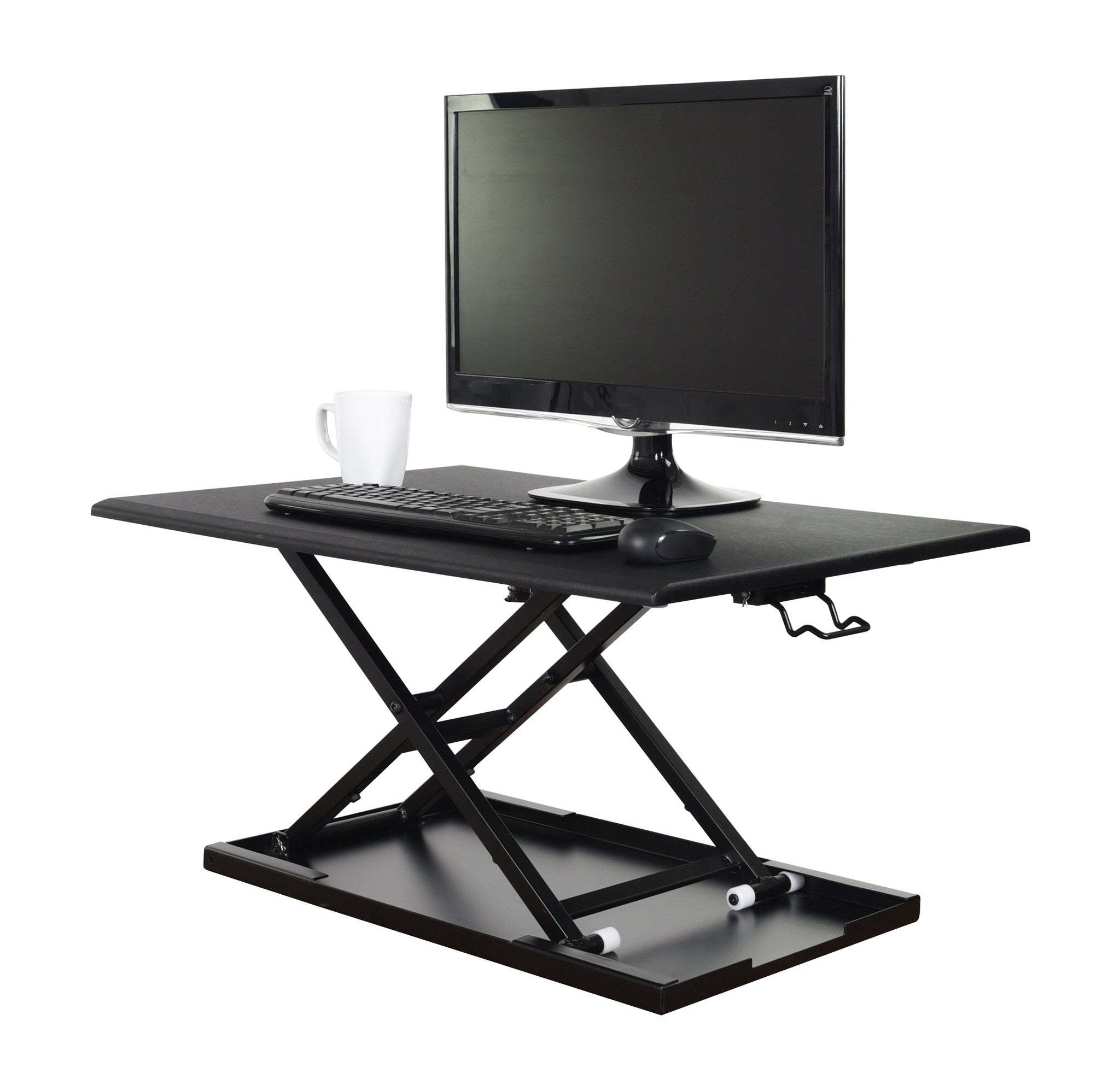 Luxor Level Up 32 Adjustable Desktop Desk