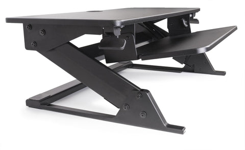 ZIPLIFT 35″ Sit-Stand Desk with Free 18x24 Mat