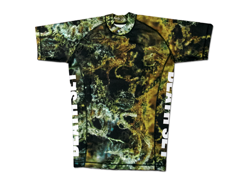"""Urban Tree Camo"" Short Sleeve Rashguard"