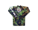 "4:20 Anniversary ""Urban Tree Camo"" Long Sleeve Rashguard"