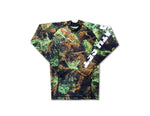 """Urban Tree Camo"" Long Sleeve Rashguard"
