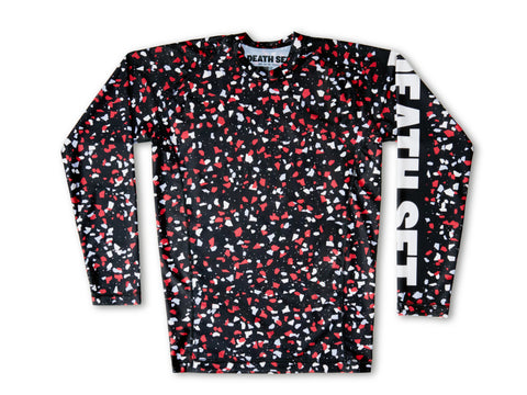 """Urban Ground Camo"" Long Sleeve Rashguard"