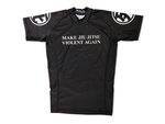"""Make Jiu Jitsu Violent Again"" Rashguard - Short Sleeve"