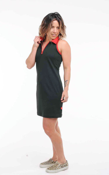 Podium Polo Style Racerback Dress  - Pre-Order