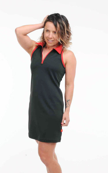 Podium Polo Style Racerback Dress - In Stock Now
