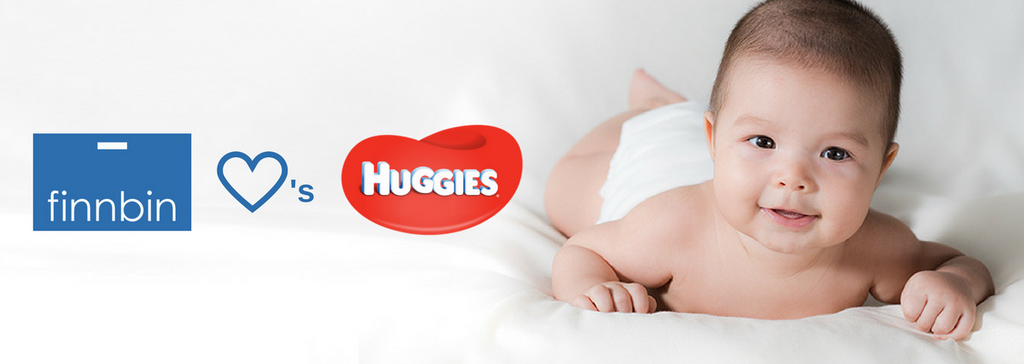 Finnbin and Huggies® Are Partnering!
