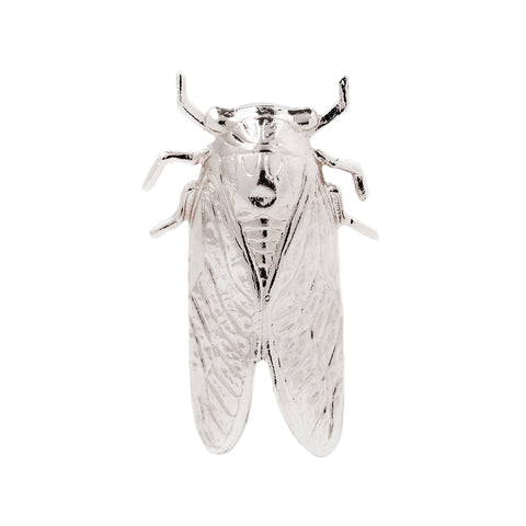 Cicada Cocktail Ring in Sterling Silver