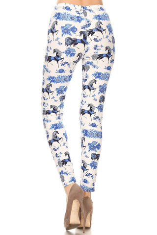 OxLaLa Leggings Blue Beauty