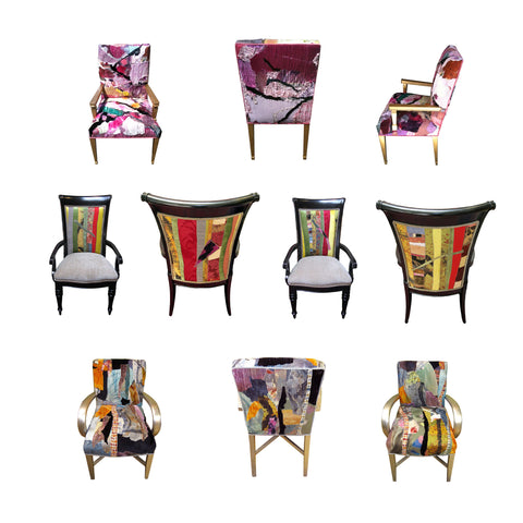 accent chairs by Sara Palacios Designs