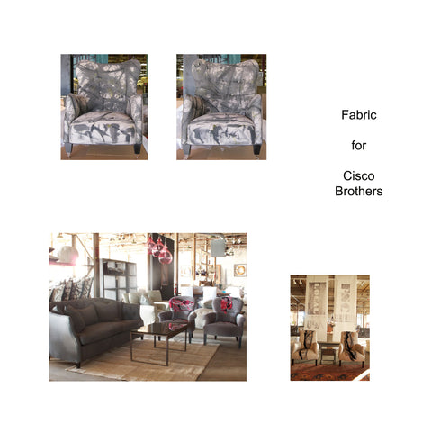 Upholstered fabric for Cisco Brothers by Sara Palacios Designs