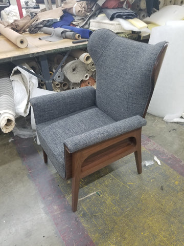 Custom lounge chair