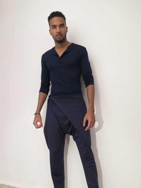 Mens Ultra-Violet Wrap Pant
