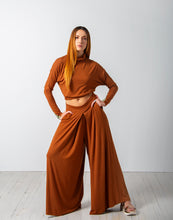 Load image into Gallery viewer, Pleated Palazzo Pant