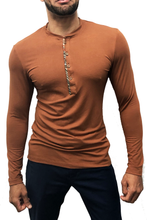 Load image into Gallery viewer, Bamboo Henley Top