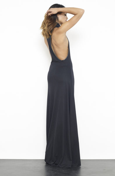 Racerback Cowl Neck Dress