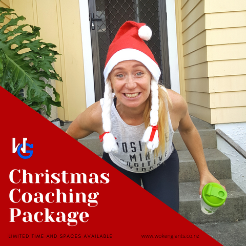 Christmas Coaching Package - LIMITED TIME AND PLACES