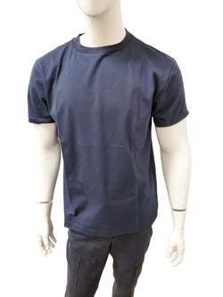 THE ROW T SHIRT IN NAVY - ACCESSX