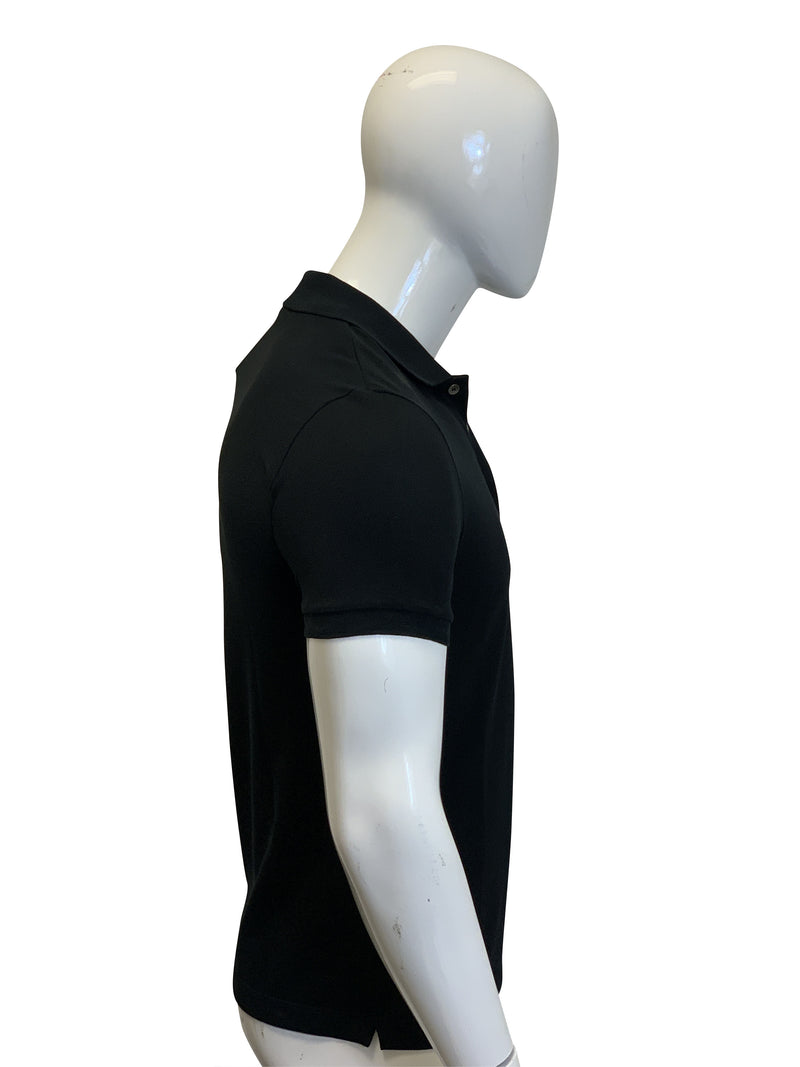 Bottega Veneta Mens Black Polo T-Shirt - ACCESSX
