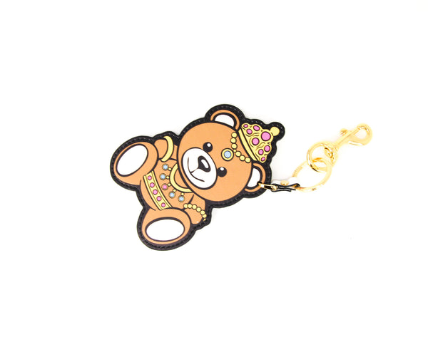 Moschino Teddy Bear Princess Keyring - ACCESSX