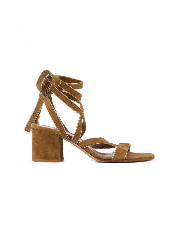 Gianvito Rossi Womens 65 Olive Dalian Sandals - Tribeca Fashion House