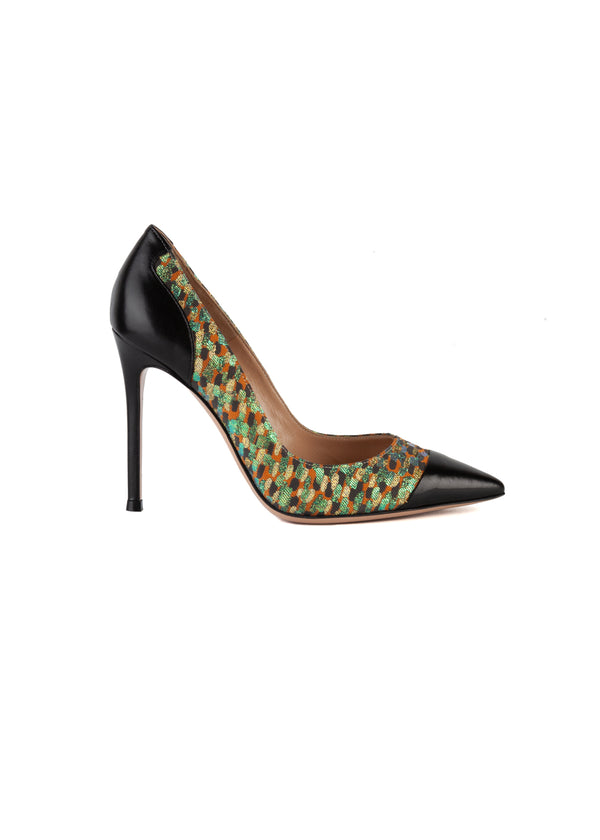 Gianvito Rossi Womens 105 Multicolored Pumps - ACCESSX