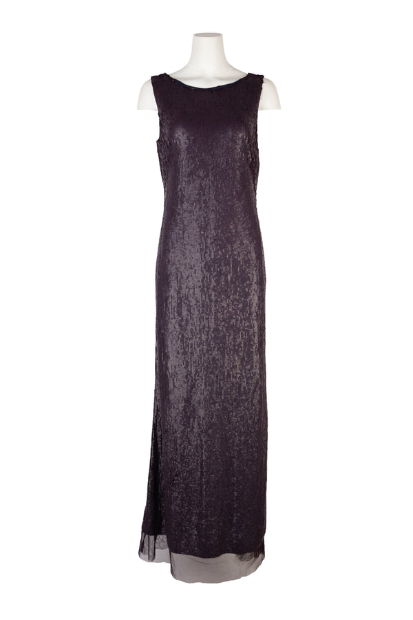 Tom Ford Womens Purple Sequin Gown - Tribeca Fashion House