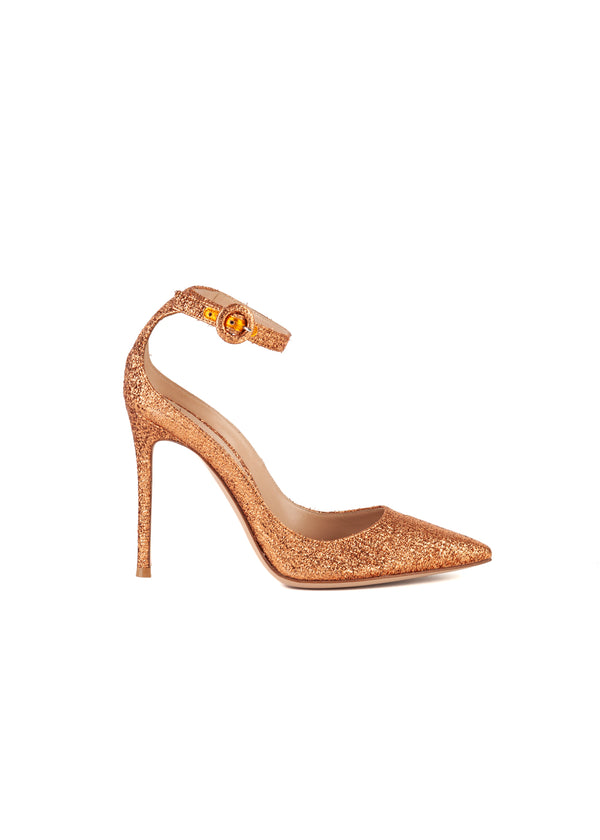 Gianvito Rossi Womens 105 Copper Portofino Pumps - ACCESSX