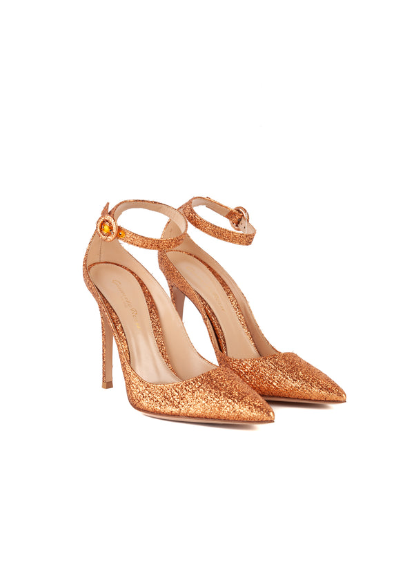 Gianvito Rossi Womens 105 Copper Portofino Pumps