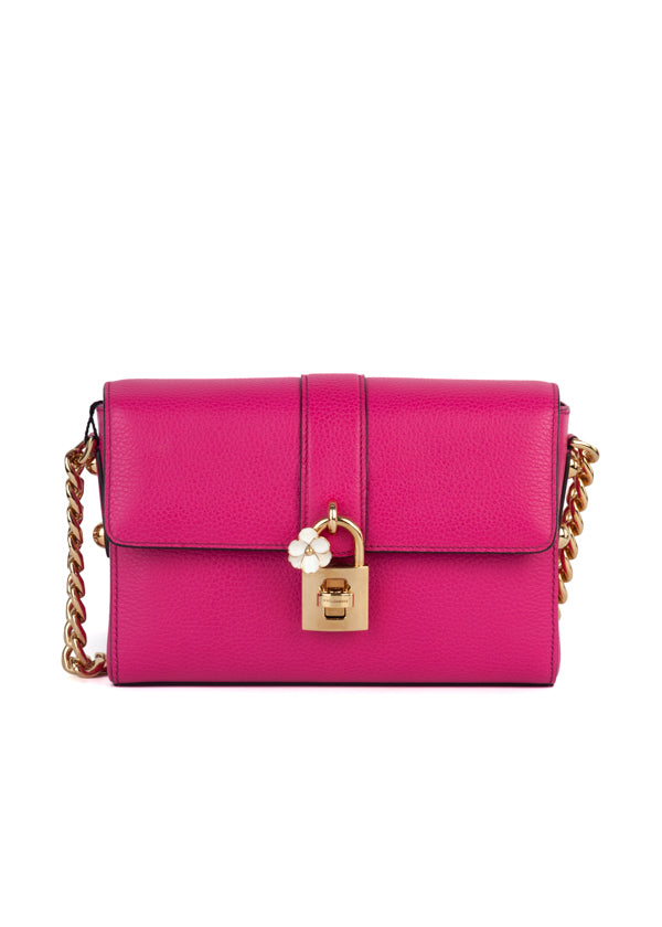 Dolce & Gabbana Womens Pink Shoulder Bag - ACCESSX