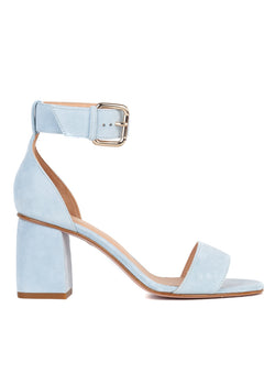 Red Valentino Womens Sky Blue Sandals - ACCESSX