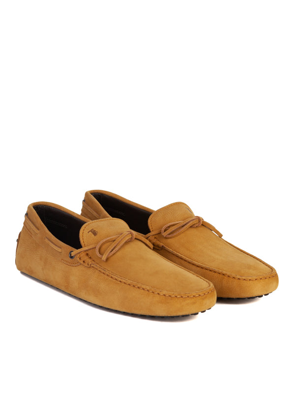 Tod's Mens Beige Suede Drivers - ACCESSX