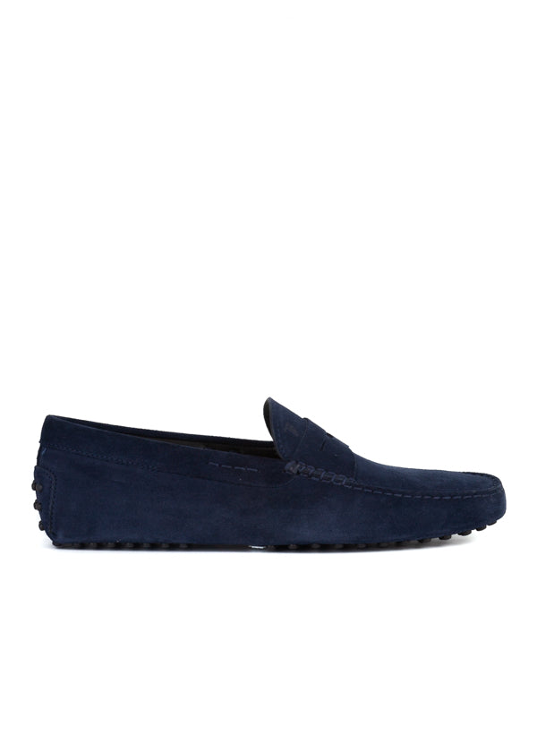 Tod's Mens Blue Suede Drivers - ACCESSX