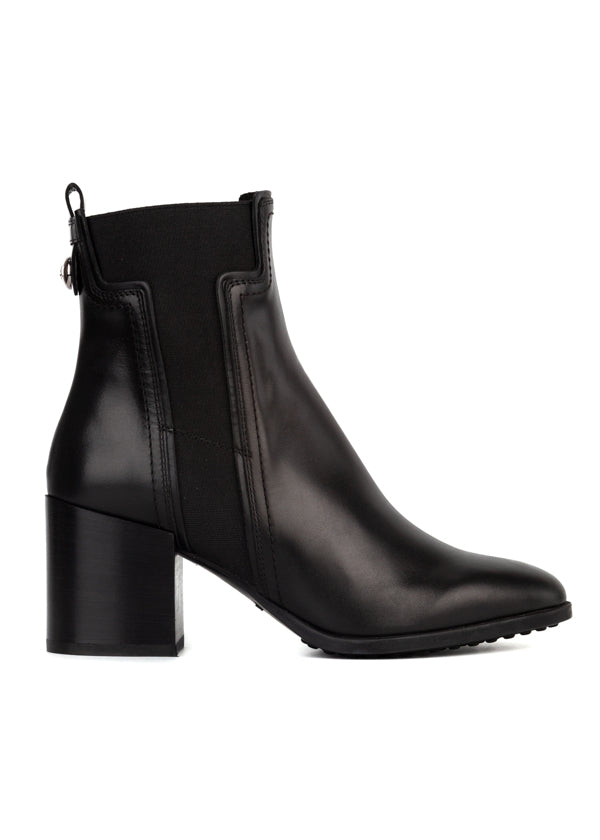 Tod's Womens Black Ankle Boots - ACCESSX